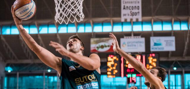 Alessandro Riva parla del momento della Sutor Decathlon Montegranaro in vista della sfida di domani contro l'Aurora Jesi