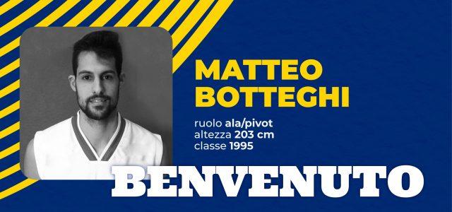 L'ala/pivot Matteo Federico Botteghi è un nuovo giocatore della Sutor Montegranaro